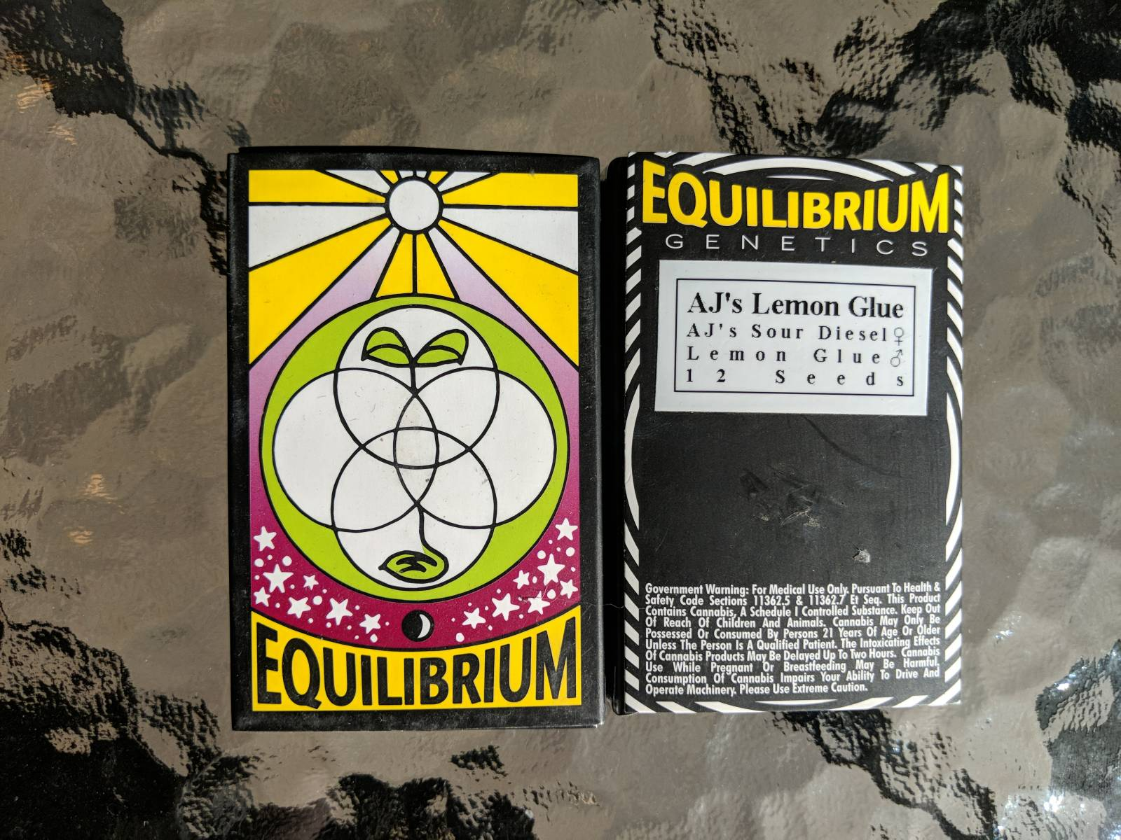 Equilibrium genetics AJ's lemon glue 12 regular seeds