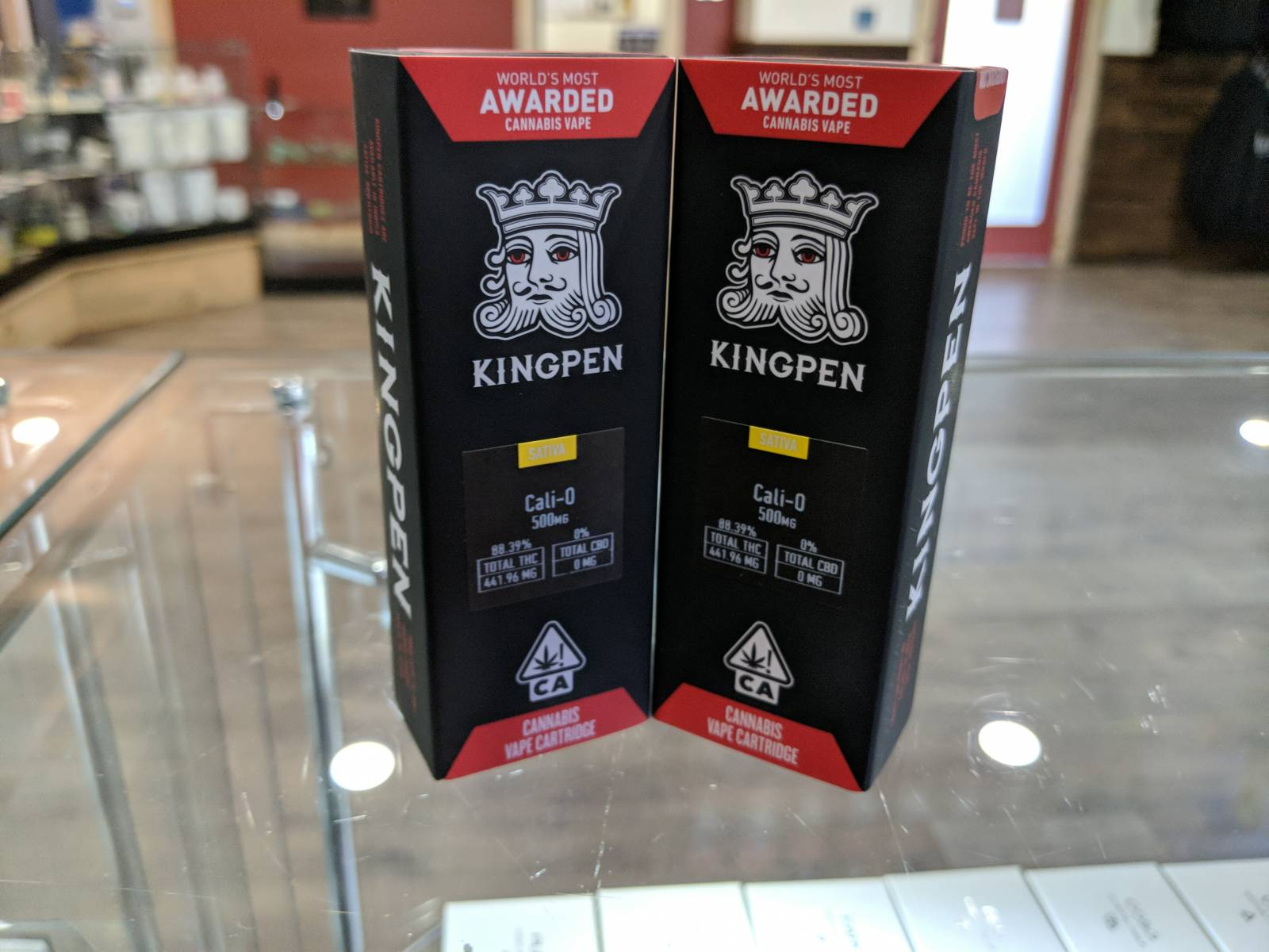 King pen cali-o half gram cartridge