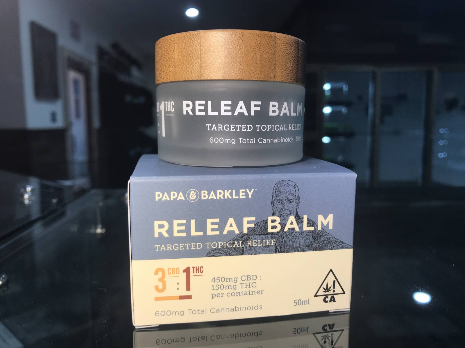 Papa & Barkley CBD Rich Balm 3:1 50ml