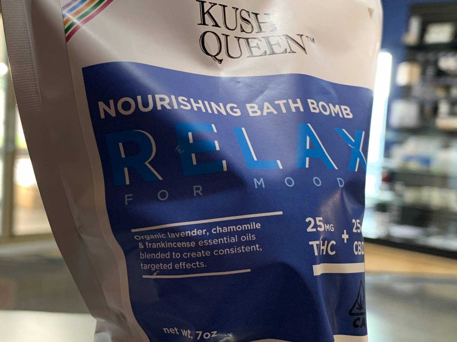 Kush Queen 1:1 Relax bath bomb