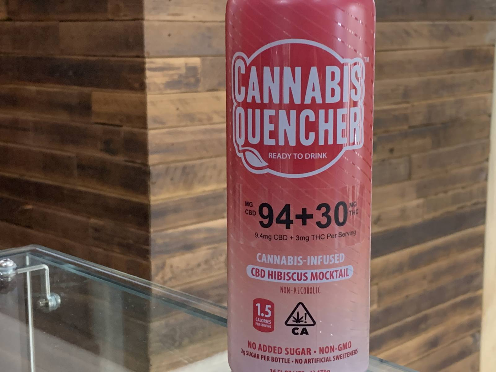 Cannabis Quencher hibiscus 3:1 drink