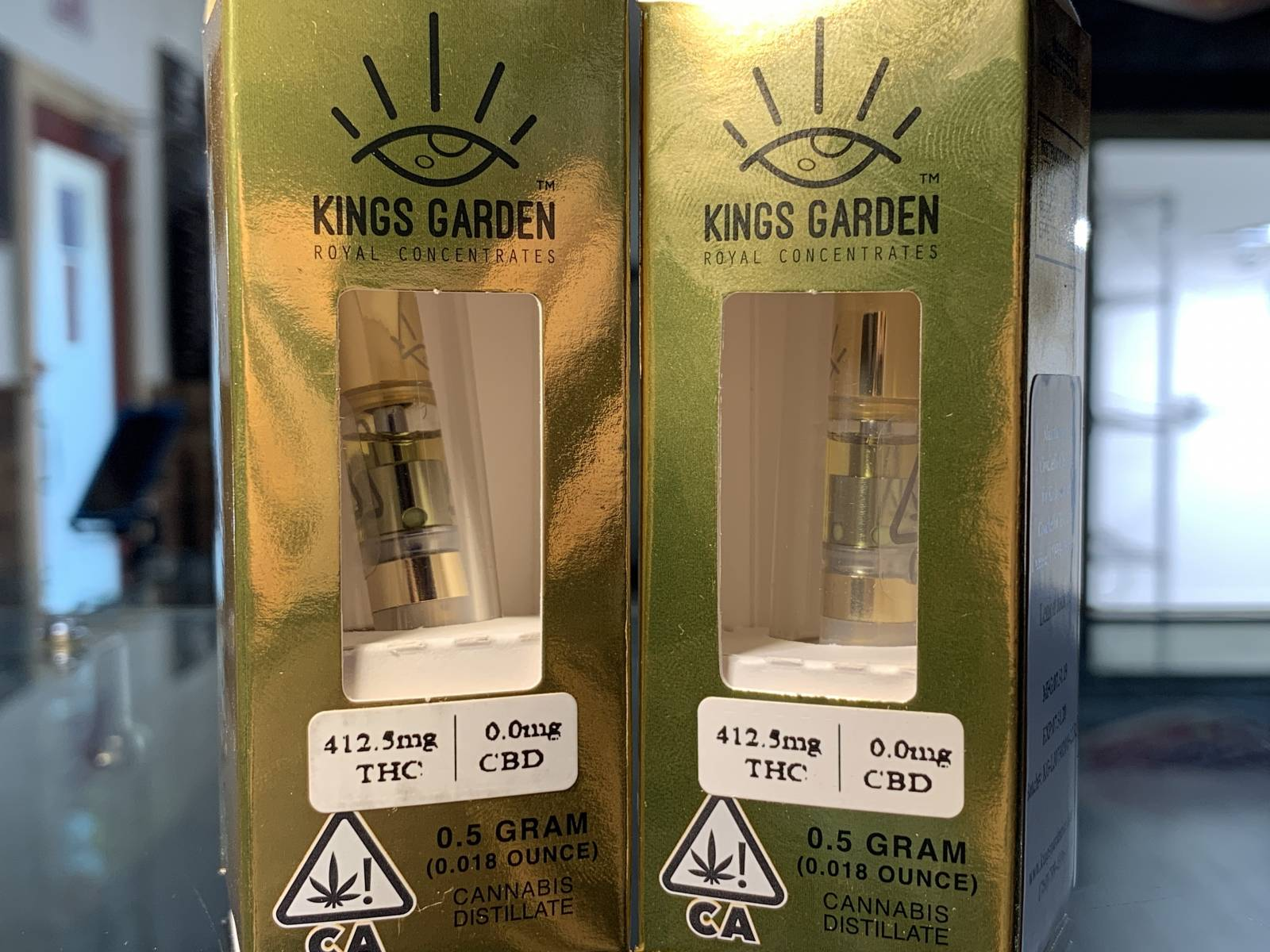 Kings Garden Lemon Jack #9 half gram cartridge