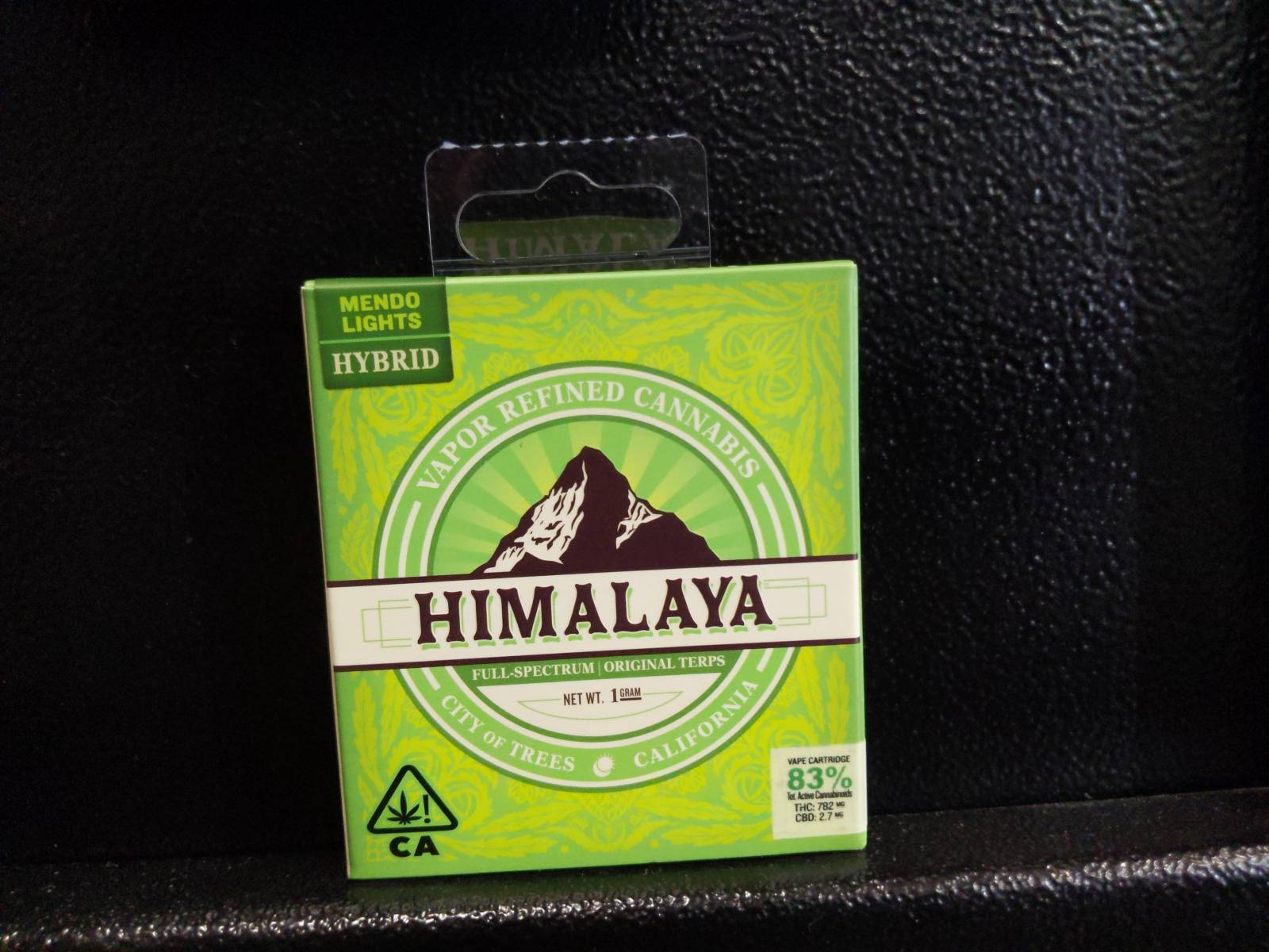 Himalaya 1g Cartridge: Hybrid- Mendo Lights