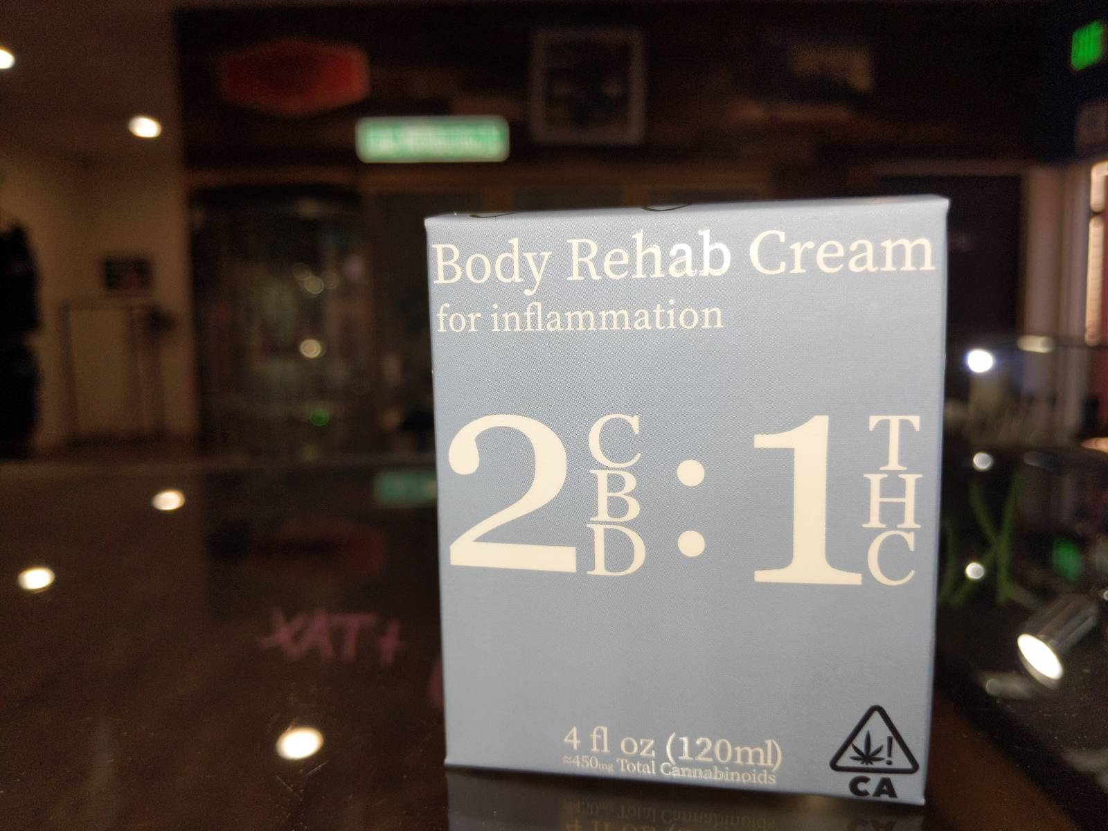 High Gorgeous 2:1 Rehab Body Cream for Inflammation