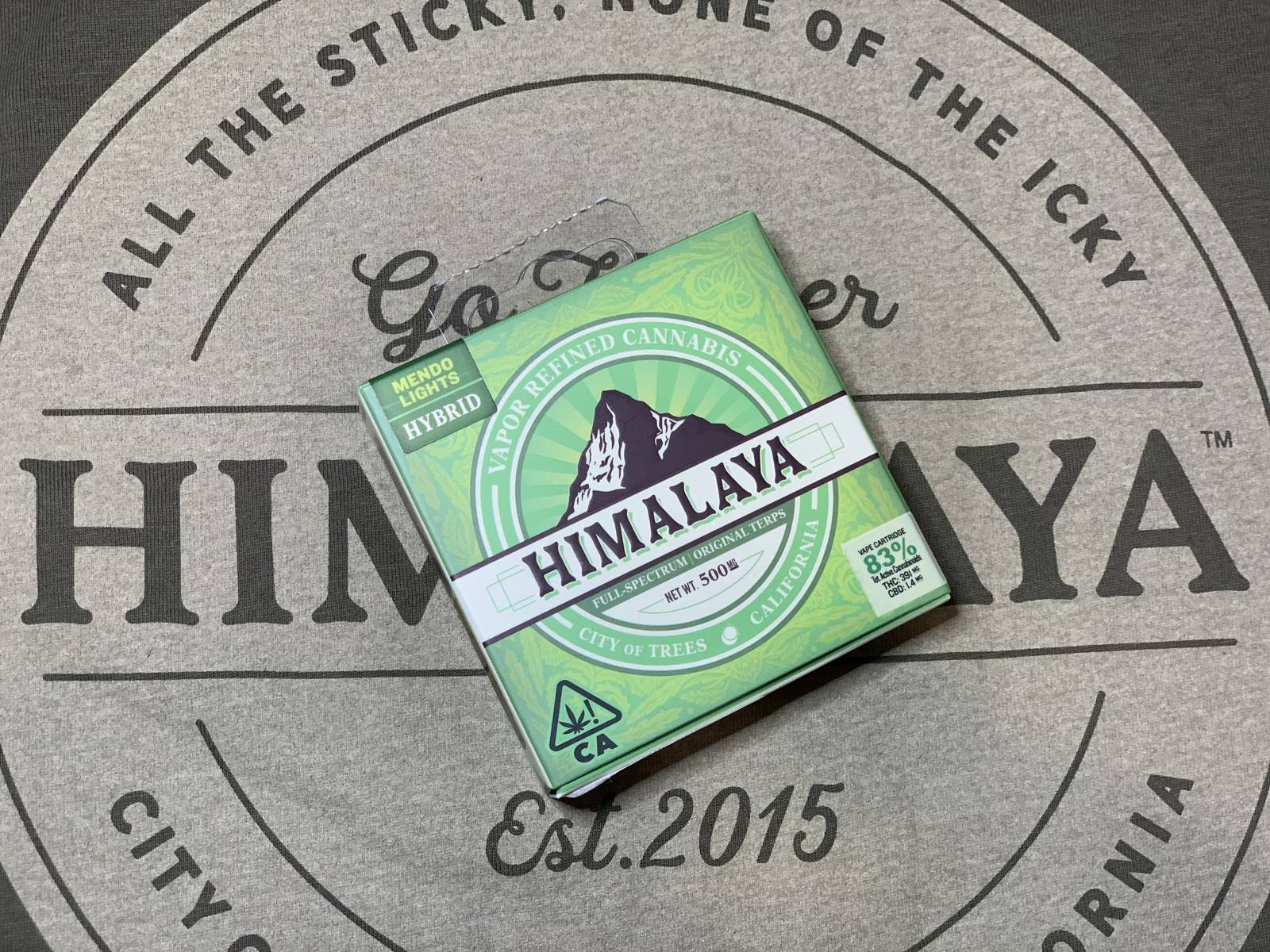 Himalaya Mendo Lights .5g Cartridge