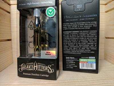 heavy Hitters Jack herer 1 gram cartridge