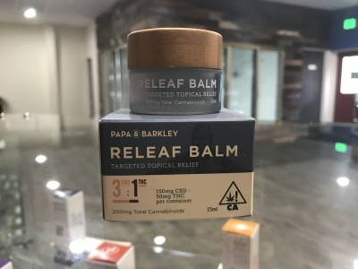 Papa & Barkley CBD Rich 3:1 Relief Balm
