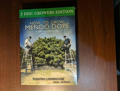 How to grow Mendocino dope 3 disc growers edition dvd
