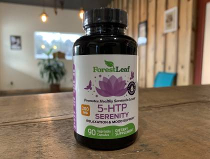 5 HTP serenity relaxation and mood enhance