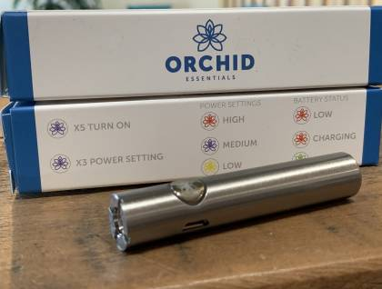 Orchid Battery silver