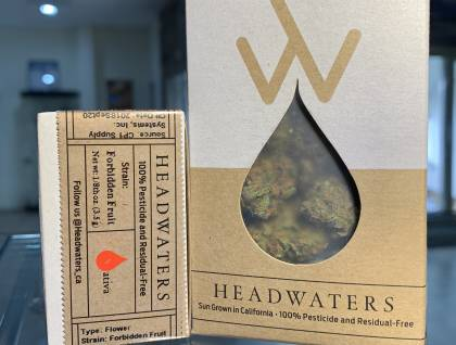 Headwater forbidden fruit packaged eighth