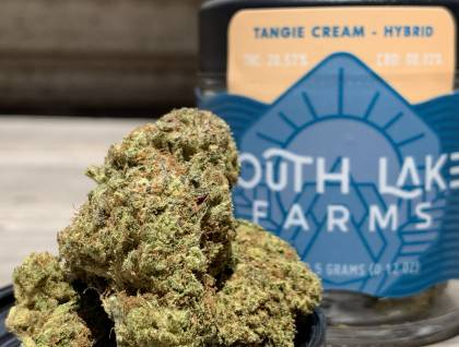 South Lake Farms Tangie Cream  packaged eighth